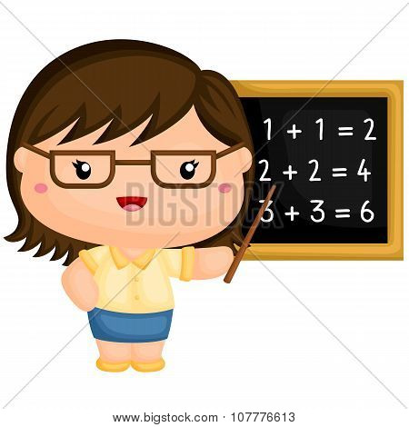 Cute Teacher