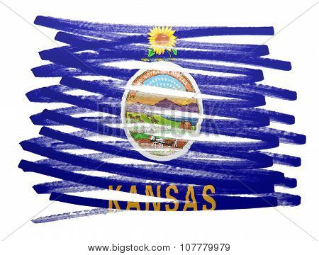 Flag Illustration - Kansas