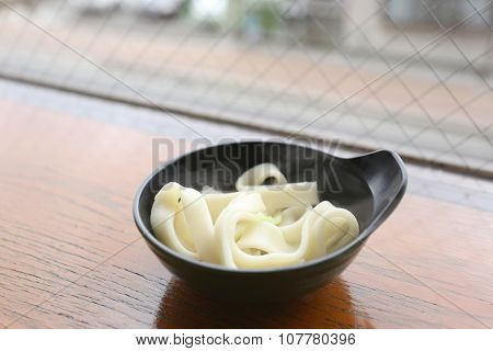 Japanese Noodle Of Udon Ramen.