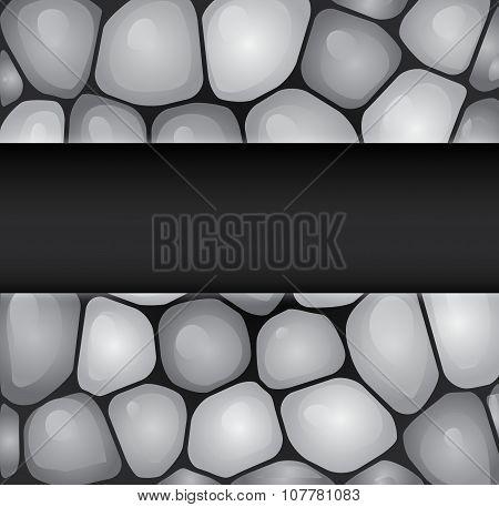 Sea rocks background