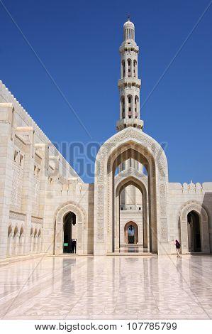 Muscat, Oman - Sultan Qaboos Grand Mosque