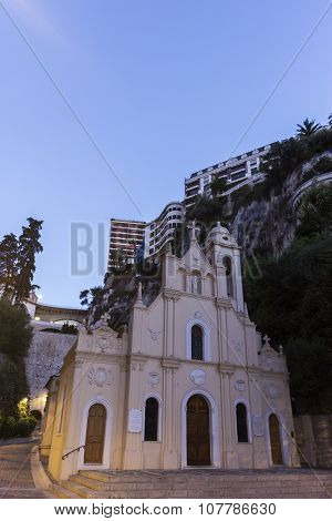 Sainte-dévote Chapel In Monaco