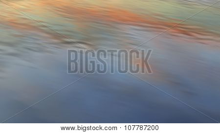 dramatic sunset water reflection background