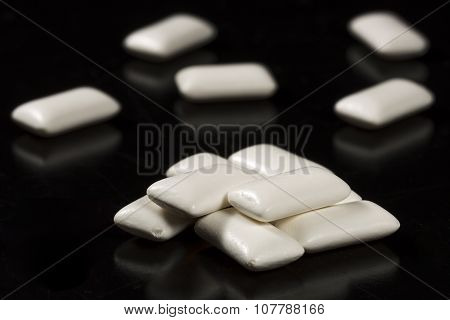 Chewing Gum Close Up