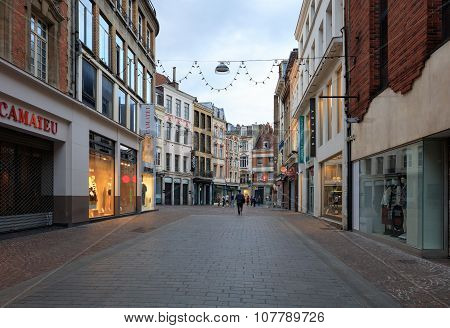 Lille famouse Rue Gambetta