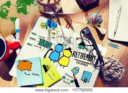Retirement Professional Occupation Job Office Working Concept