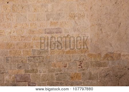 Old Textured Background From Bricks