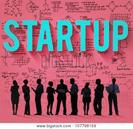 Start Up New Business Growth Strategy Vision Concept