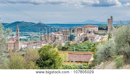 Castiglione Fiorentino, An Ancient Medieval Town In Tuscany