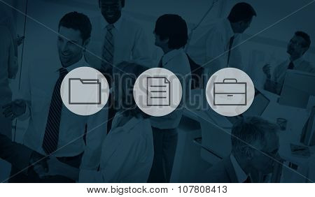 Storage Notepad Directory Business Working Data Concept