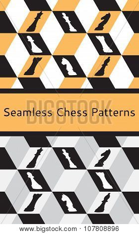 chess seamless pattern