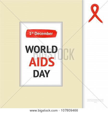 World Aids Day  in frame
