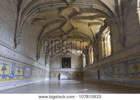 Room Interiors Of Jeronimos Monastery