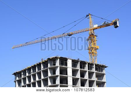 construction of a new house