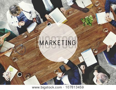 Marketing Business Advertising Commercial Vision Concept