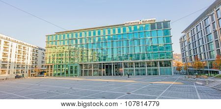 Financial Institution Sud Factoring / Sud Leasing At Square Pariser Platz, Stuttgart
