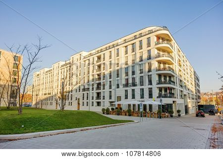 Apartment House Building At Square Pariser Platz, Stuttgart