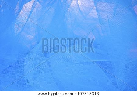 Abstract Tulle Fabric Background and Textures