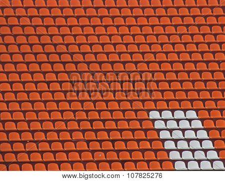 tribune of stadium