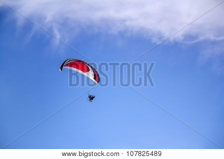 Paraglider With Motor