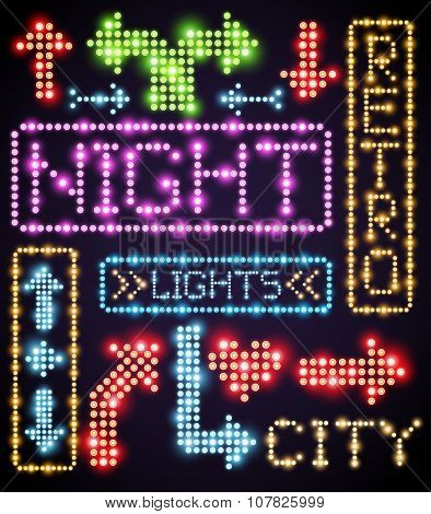 Neon sign light