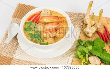 Sour Prawn Soup