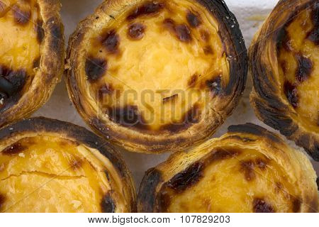 Traditional portuguese specialty tart name Nata