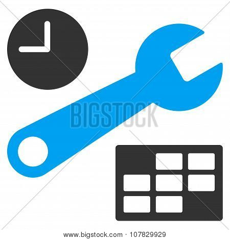 Date And Time Setup Icon