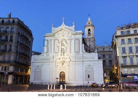 Eglise Saint-ferreol In Marseilles In France