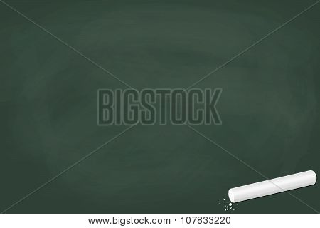Empty Chalkboard Green