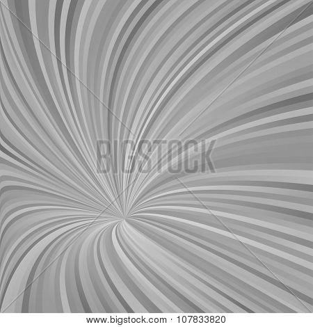Grey asymmetrical hypnotic vortex design background