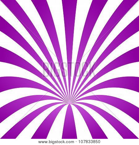 Purple striped cone design background