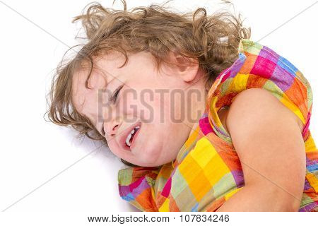 Little Girl Crying