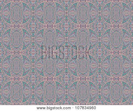 Seamless pattern pink gray turquoise