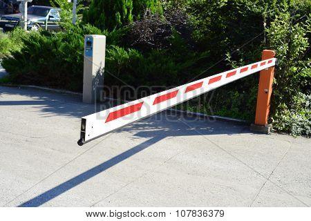 Parking Lot Barrier