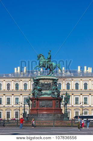 Emperor Nicholas I Monument