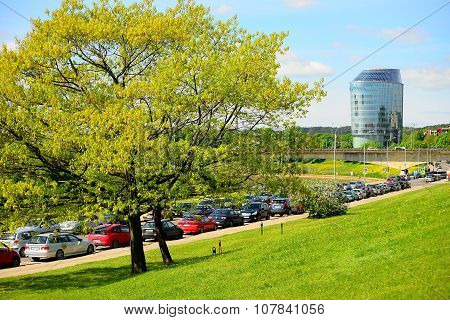 Barclays Bank Office In Vilnius City