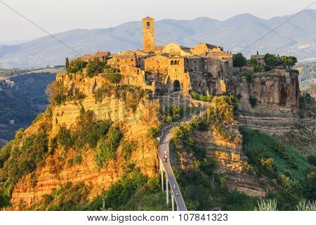 most beautiful villages of Italy - Civita di Bagnoregio, Lazio