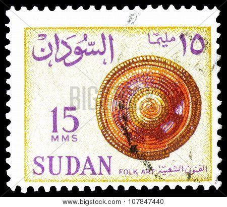 Sudan 1962 folk art