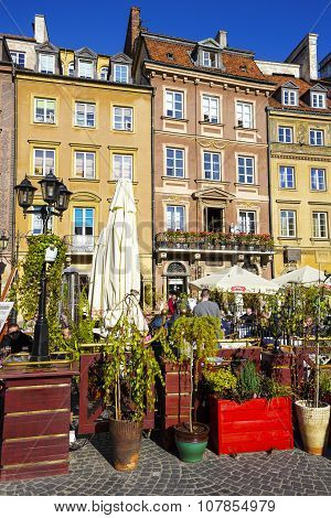 Old Town Square (detail), Warsaw