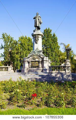 Warsaw, Adam Mickiewicz Statue