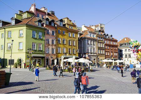 Warsaw, Castle Square