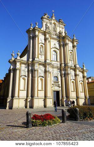 Warsaw, The Church Of Wizytek