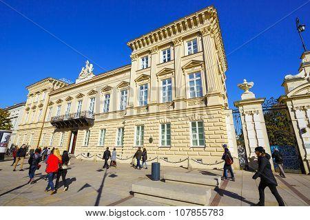 Warsaw, The Palace Uruskich
