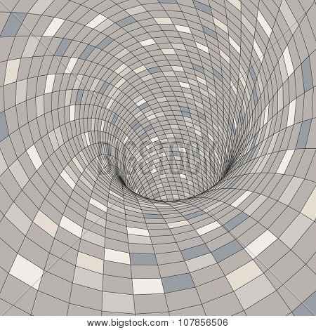 Colorful Mosaic Background. Polygonal Vector Illustration.