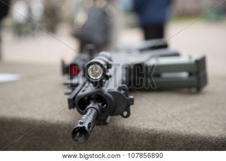 Barrel Of Rifle