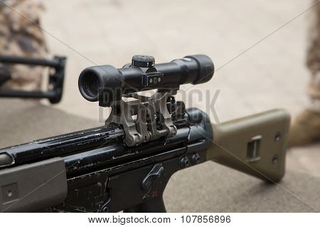 Optical Sight Attach For Rifle