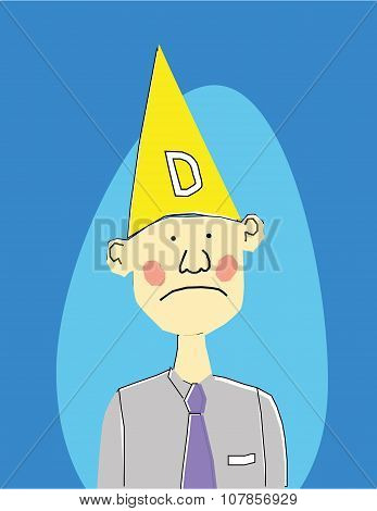 Wearing a Dunce Hat