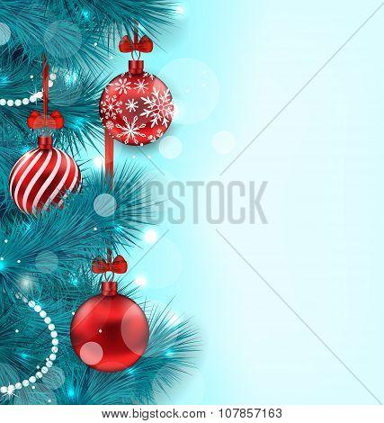 Christmas Lighten Background