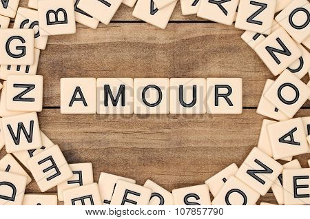 Amour - Love In French